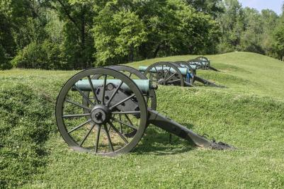 Cannons, Vicksburg National Military Park, Vicksburg, Mississippi