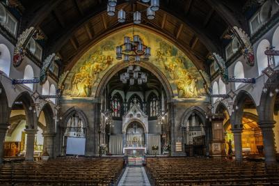 St. Mary's Metropolitan Cathedral, Edinburgh, Scotland