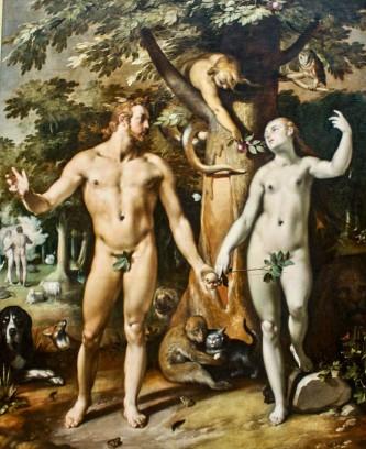 The Fall of Man, by Cornelis Cornelisz.