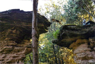 Stand Rock, Wisconsin Dells