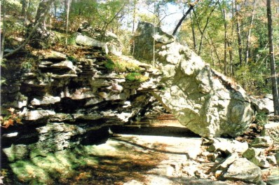 Leaning Rock, Petit Jean State Park, Arkansas
