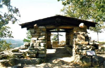 Shelter at Petit Jean State Park, Arkansas
