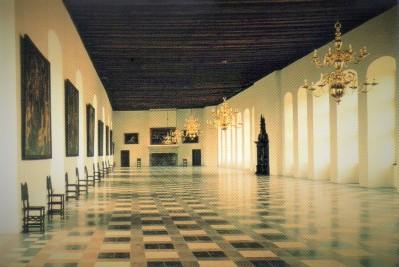 Kronborg Castle Ballroom, Helsingør, Denmark