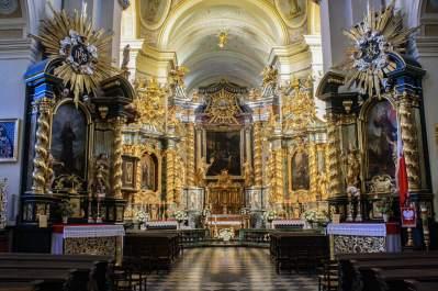 Church of St. Bernardine of Siena, Krakow, Poland