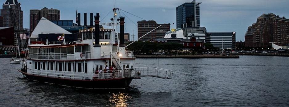 Harbor cruise, Baltimore, Maryland