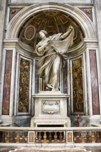 Statue of St. Veronica, Basilica of St. Peter, Vatican City