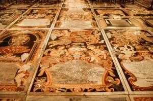 Tomb slabs, St. John's Co-Cathedral, Valletta, Malta