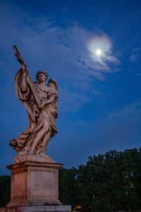Angel on St. Angelo Bridge, Rome