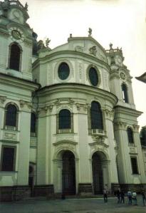Collegiate Church, Salzburg, Austria