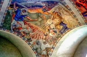 Fresco, National Museum of Finland, Helsinki