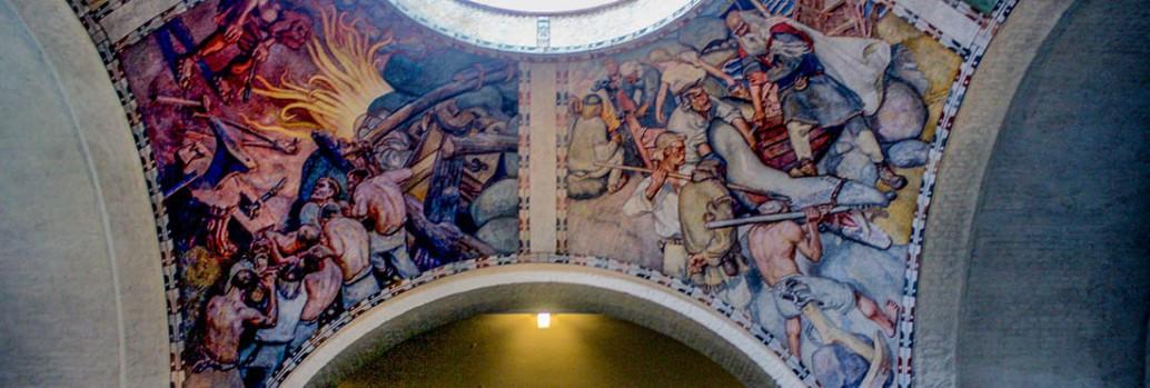 Frescoes, National Museum of Finland, Helsinki