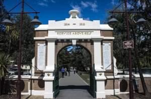 Queenstown War Memorial, New Zealand