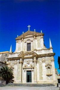 Jesuit Church of St. Ignatius of Loyola, Dubronvnik, Croatia