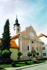 Cathedral of the Assumption of the Blessed Virgin Mary, Varazdin, Croatia