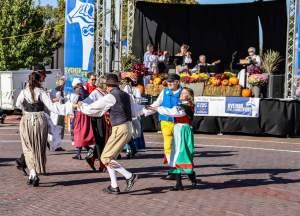 Adults dancing