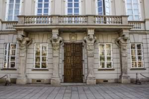 Tyszkiewicz Palace, Warsaw, Poland