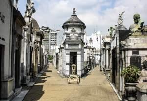 Mausoleum, Recoleta Cemetery, Buenos Aires