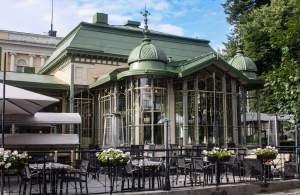 Cafe Kappeli, Helsinki, Finland