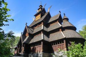 Stave church, Norwegian Folk Museum, Oslo