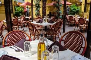 Tables at Da Nico Ristorante, New York City