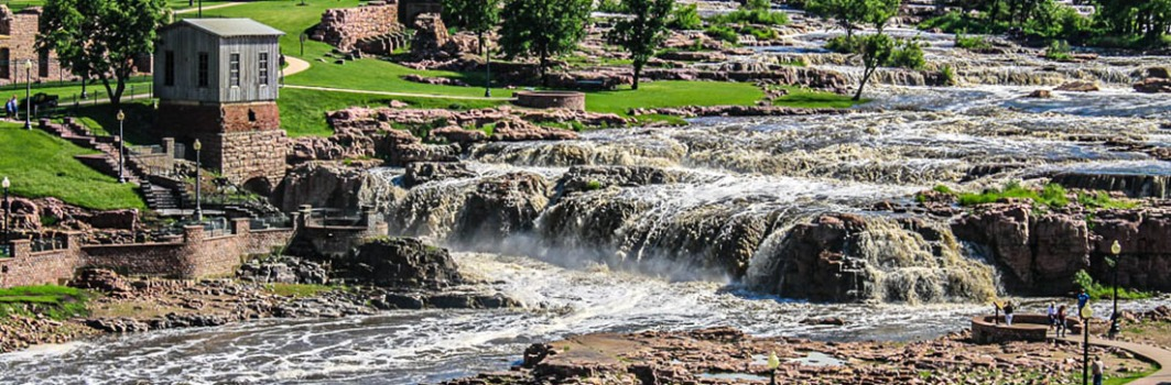 Falls Park, Sioux Falls, South Dakota